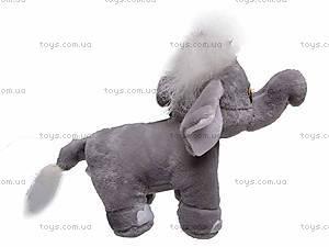 Цветной музыкальный слоник, S-JH3410, игрушки