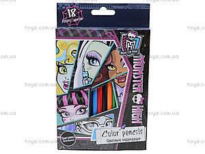 Цветные детские карандаши, 18 штук, MHBB-US1-1P-18