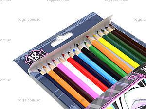 Цветные детские карандаши, 18 штук, MHBB-US1-1P-18, фото