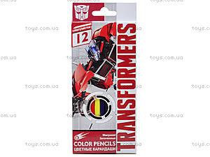 Цветные детские карарандаши, 12 штук, TRBB-US1-P-12, отзывы