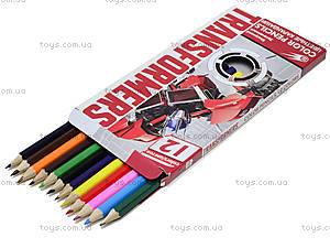 Цветные детские карарандаши, 12 штук, TRBB-US1-P-12