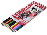 Цветные детские карарандаши, 12 штук, TRBB-US1-P-12, фото