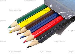 Цветные детские карандаши, 6 штук, PLAB-US1-P-6, купить