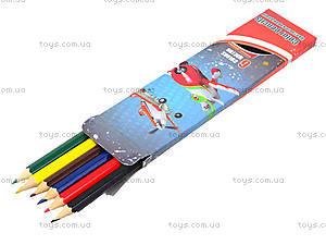 Цветные детские карандаши, 6 штук, PLAB-US1-P-6, отзывы