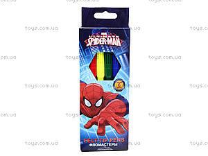 Цветные фломастеры «Человек-паук», SMAB-US1-2MB-6