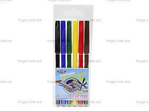 Цветные фломастеры «Самолеты», PLBB-US1-1M-6
