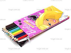 Цветные карандаши, 24 штуки, BRDLR-12S-1P-24, фото