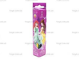 Цветные карандаши «Disney Prinsess», 12 штук, PRAB-US1-3P-12