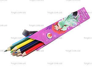 Цветные карандаши «Disney Prinsess», 12 штук, PRAB-US1-3P-12, отзывы