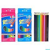 Цветные карандаши 12 цветов, C37046, цена