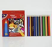 Цветные карандаши для рисования в упаковке, 01376