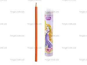 Цветные карандаши с точилкой Princess, P13-055K