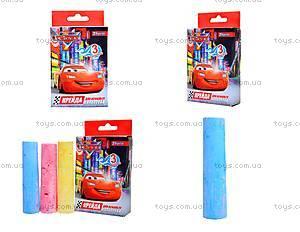 Цветные мелки для асфальта, 3 штуки, 400121