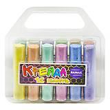 Цветные мелки для рисования (в наборе 12 цветов), Ч-12, іграшки