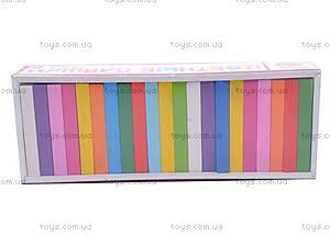 Цветные плашки, 28 деталей, 6675, отзывы