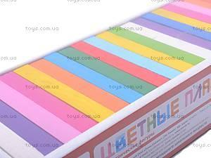 Цветные плашки, 28 деталей, 6675