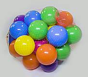 Цветные шарики в сетке 30 шт., , фото