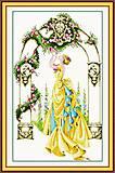 Цветочная арка, вышивка крестиком, R051, отзывы