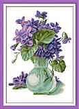 Набор для вышивки крестиком «Цветочный букет», H327