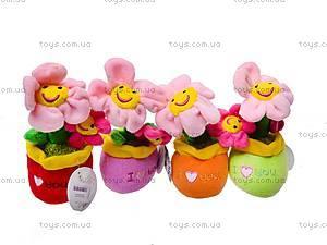 Игрушечный цветок в вазоне, ABA58096A, игрушки