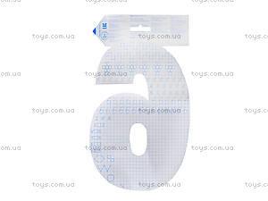 Цифры-обучалочки «Цифра 6», Ч422093Р, фото