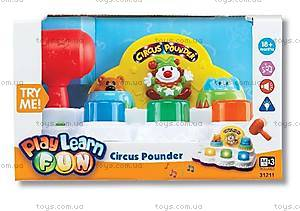 Музыкальная игрушка «Веселый цирк», К31211