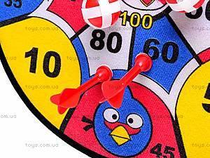 Дартс «Angry Birds», 361-A28, игрушки