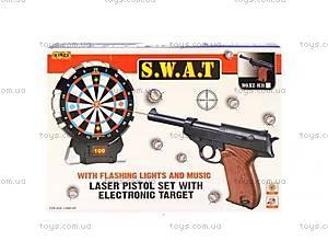 Дартс с музыкальным пистолетом для детей, XZ-H32