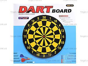 Игровой дартс с набором стрел, 9068, цена