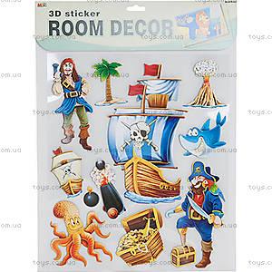 Декорации для детской комнаты «Пираты», RDS-104