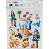 Декорации для детской комнаты «Пираты», RDS-104, отзывы