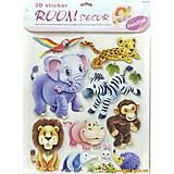 Декорации для детской комнаты «Зверята», RDS-203, купить