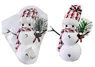 Декоративная фигурка «Снеговик», С30417
