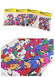 Декоративные шарики блестящие маленькие (10гр микс) 4 шт в упаковке, 8874, фото