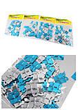 Декоративные подарки блестящие №2 голубой + серебро (4 набора в упаковке), 8879, оптом