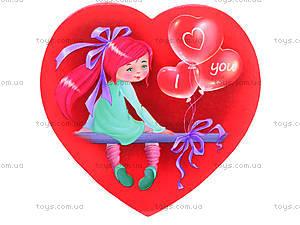 Декоративный магнит «Валентинка», JL5105-01, toys