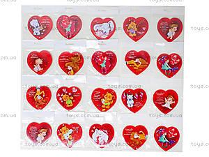 Декоративный магнит «Валентинка», JL5105-01, детский