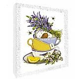 Декупаж на холсте «Чай для любимой. Цветы», 94707(11)-1, отзывы