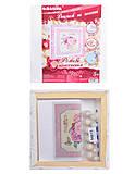 Декупаж на холсте «Розовое вдохновения», 94613, купить