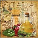 Декупаж на холсте «Италия, прованс 1», 94623, отзывы