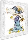 Декупаж на холсте «Юная садовница», 94708(09,10,15)-2, фото