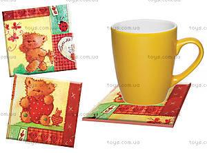 Декупаж по изразцу «Медвежата», 6550-11, купить