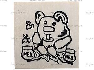Деревянный магнит-раскраска «Винни Пух», 171813, купить