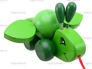 Деревянная игрушка-каталка «Пчелка», W02-4330, купить