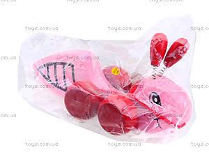 Деревянная игрушка-каталка «Пчелка», W02-4330, цена