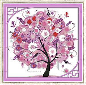 Дерево счастья, картина для вышивки, F370