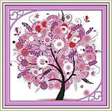 Дерево счастья, картина для вышивки, F370, фото