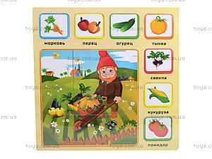 Деревянные пазлы для детей, BT-WT-0036, фото