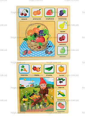 Деревянные пазлы для детей, BT-WT-0036