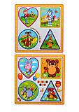 Деревянный вкладыш серии «Мультфильмы», W02-5436